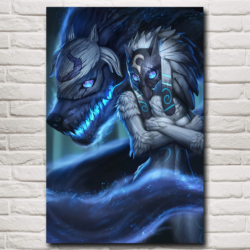 Plakát Kindred League of Legends