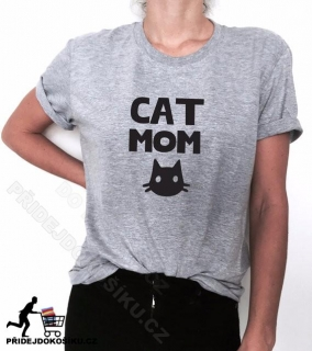 Tričko CAT MOM
