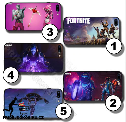 Fortnite kryty na Iphone Apple telefon